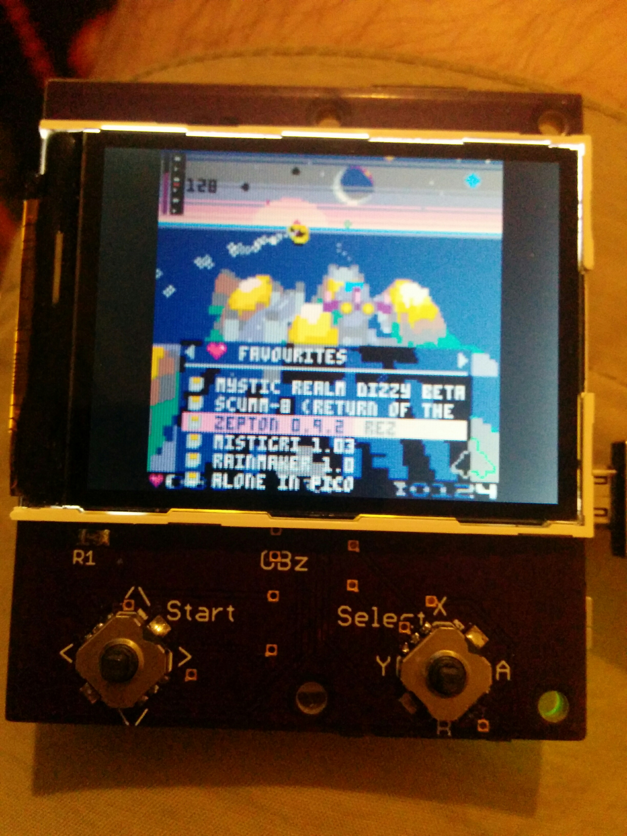 Thoughts about a PICO-8 Console