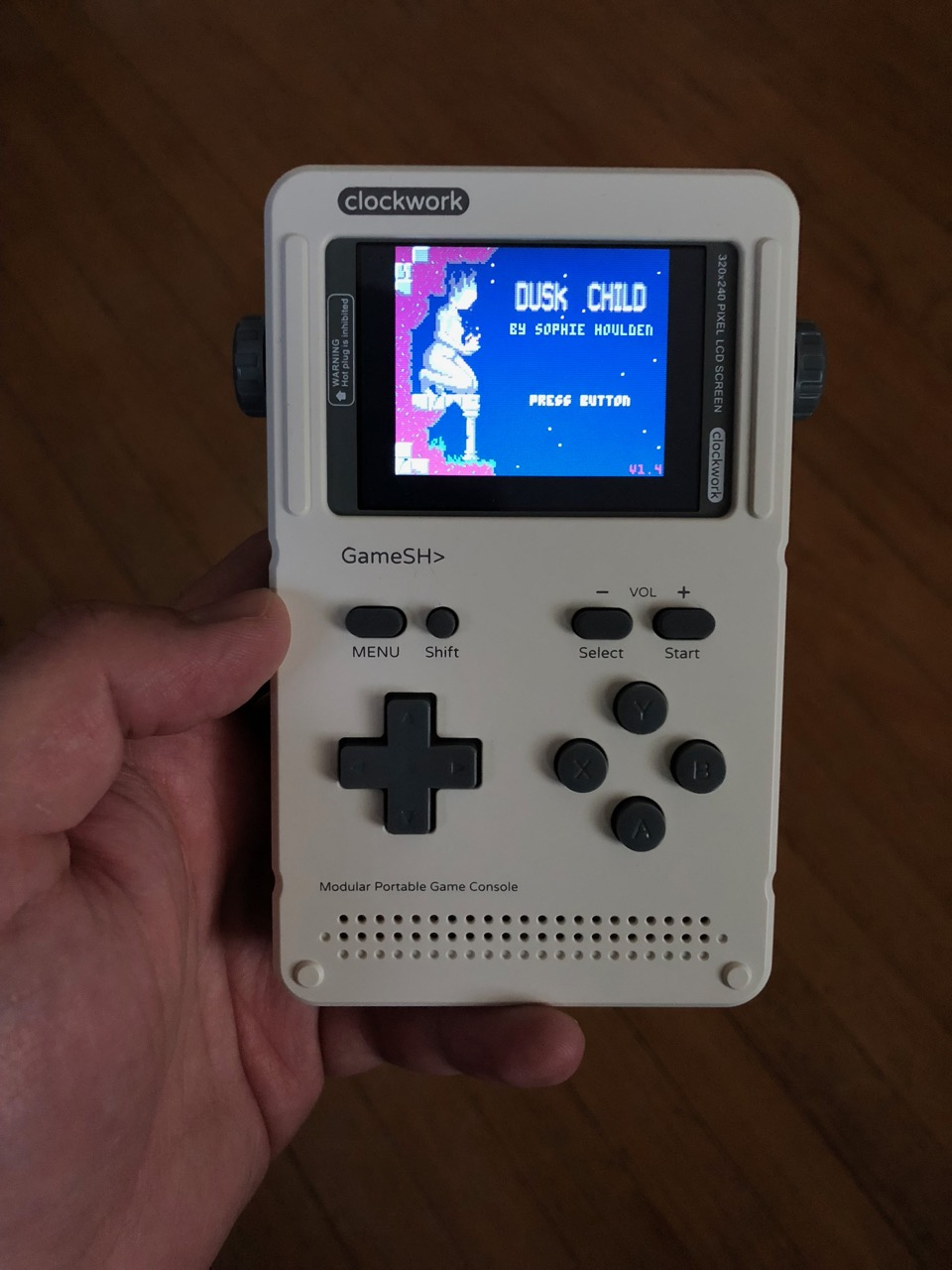 Pico-8 on a GameShell, review and howto